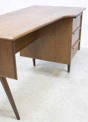 vintage retro teak bureau buro, vintage Danish desk Scandinavian