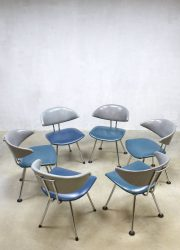 Vintage dinner chairs Martin de Wit eetkamer stoelen 7211 Mickey