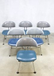 Vintage Mickey chairs7211 eetkamerstoelen Dutch design chairs dinner chairs Martin de Wit