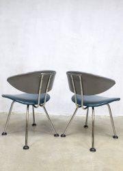 Martin de Wit stoelen eetkamerstoelen jaren 50 vintage Dutch design