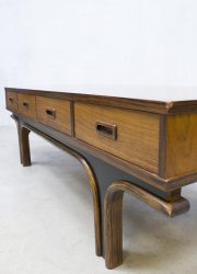 Vintage Danish coffee table , Deense salontafel tv tafel