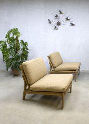 Vintage Deense lounge chairs sofa Komfort mobler Danish Arne Wahl Iversen