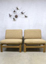 Vintage Deense relax fauteuil bank sofa Komfort mobler Danish