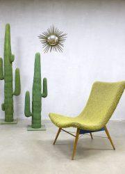 Czech Republic design lounge chair easy chair fifties sixties vintage chair