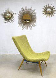 Vintage design lounge chair Miroslav Navratil lounge fauteuil