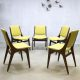 Vintage dinner chairs Mahjongg Holland eetkamerstoelen