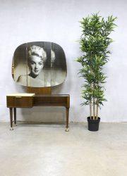 midcentury modern dressing table make up tafel kaptafel Zijlstra Dutch design