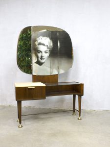Vintage dressing table A.A. Patijn kaptafel Zijlstra meubelfabriek
