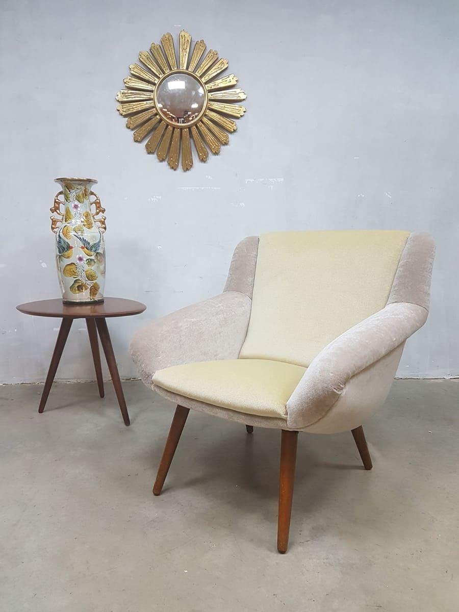 Deense Vintage Lounge Fauteuil Vintage Design Easy Chair