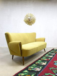 Vintage fifties cocktail bank lounge bank cocktail sofa