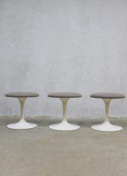 Knoll vintage tulip stools stool kruk krukken Saarinen