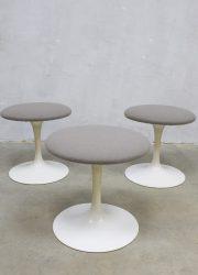 mid century stool Knoll Saarinen stools krukken kruk design