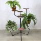 Vintage plant stand industrial flower table plantentafel industrieel
