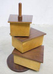 Vintage Sewing Box naaikistje Cees Braakman Pastoe 1950