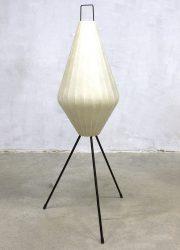 Vintage tripod cocoon lamp Artimeta Lugano vloer lamp