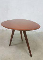 teakhouten bijzet tafeltje retro vintage , teak retro vintage coffee table