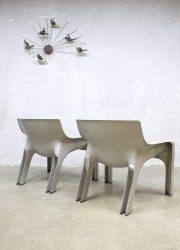 Vico Magistretti design fauteuil chair 'Vicario'Artemide Milano