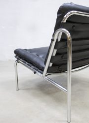 Osaka lounge chair Martin Visser Industrial chair Mad men style stoel industrieel
