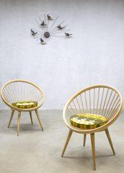 retro vintage spijlen stoel stoelen Yngve Ekstrom
