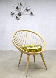 vintage design spijlen stoel cirkel chair Ygnve Ekstrom