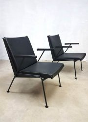 Oase lounge chairs armchairs Wim Rietveld stoel fauteuil Dutch design
