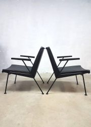 Midcentury vintage design Oase chairs Wim Rietveld