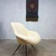 Fifties vintage kuipstoel clubfauteuil Teddy chair Eclectic style