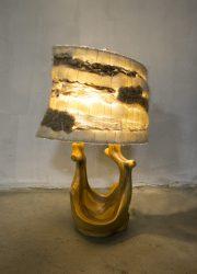 vintage lamp natuur organisch verlichting retro design