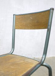 vintage French stools Industrial design