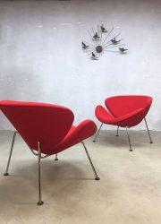 Vintage retro lounge chair fauteuil Artifort Piere Paulin