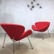 Vintage retro lounge chair fauteuil Artifort Piere Paulin