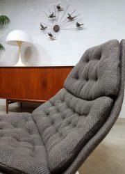 vintage retro draaifauteuil swivel chair Artifort design jaren 70