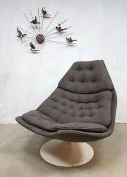 F588 Geoffrey Harcourt Artifort lounge chair fauteuil swivel chair