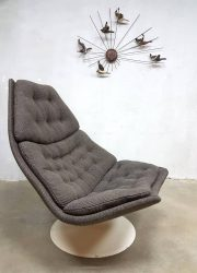 midcentury vintage design draaifauteuil Artifort Geoffrey Harcourt