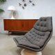 Artifort vintage draaifauteuil Geoffrey Harcourt swivel chair