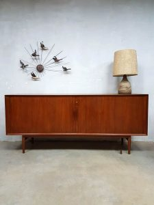 Vintage design sideboard Arne Vodder for Sibast lowboard dressoir