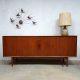 Vintage design sideboard Arne Vodder for Sibast lowboard dressoir
