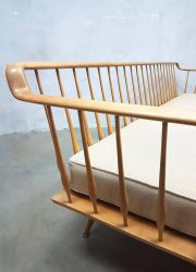vintage Danish design spijlen bank lounge sofa midcentury modern