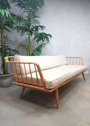 Midcentury design lounge bank spijlen bank spindle back sofa Walter Knoll