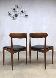vintage eetkamerstoel dinnerchair dining chair midcentury design Scandinavian Uldum
