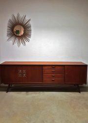 vintage dressoir low board Webe Louis van Teeffelen Ravelli tiles