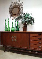 vintage design cabinet Danish style Webe lowboard Dutch design dressoir