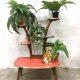 Vintage retro plant stand display flower table plantentafel fifties