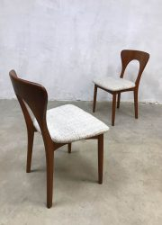 vintage danish dinner chairs Koefoed Hornslet