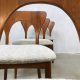 Midcentury design Danish dinnerchairs Koefoed Hornslet vintage stoel
