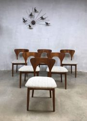 midcentury vintage design eetkamerstoel dinnerchair Peter chair Koefoed Hornslet