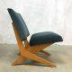Vintage lounge chair Jan van Grunsven FB 18 Pastoe scissor chair