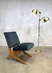 Vintage scissor chair lounge chair FB18 Jan van Grunsven USM Pastoe