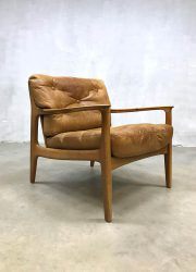 leren leather vintage design chair fauteuil bestwelhip Eugen Schmidt