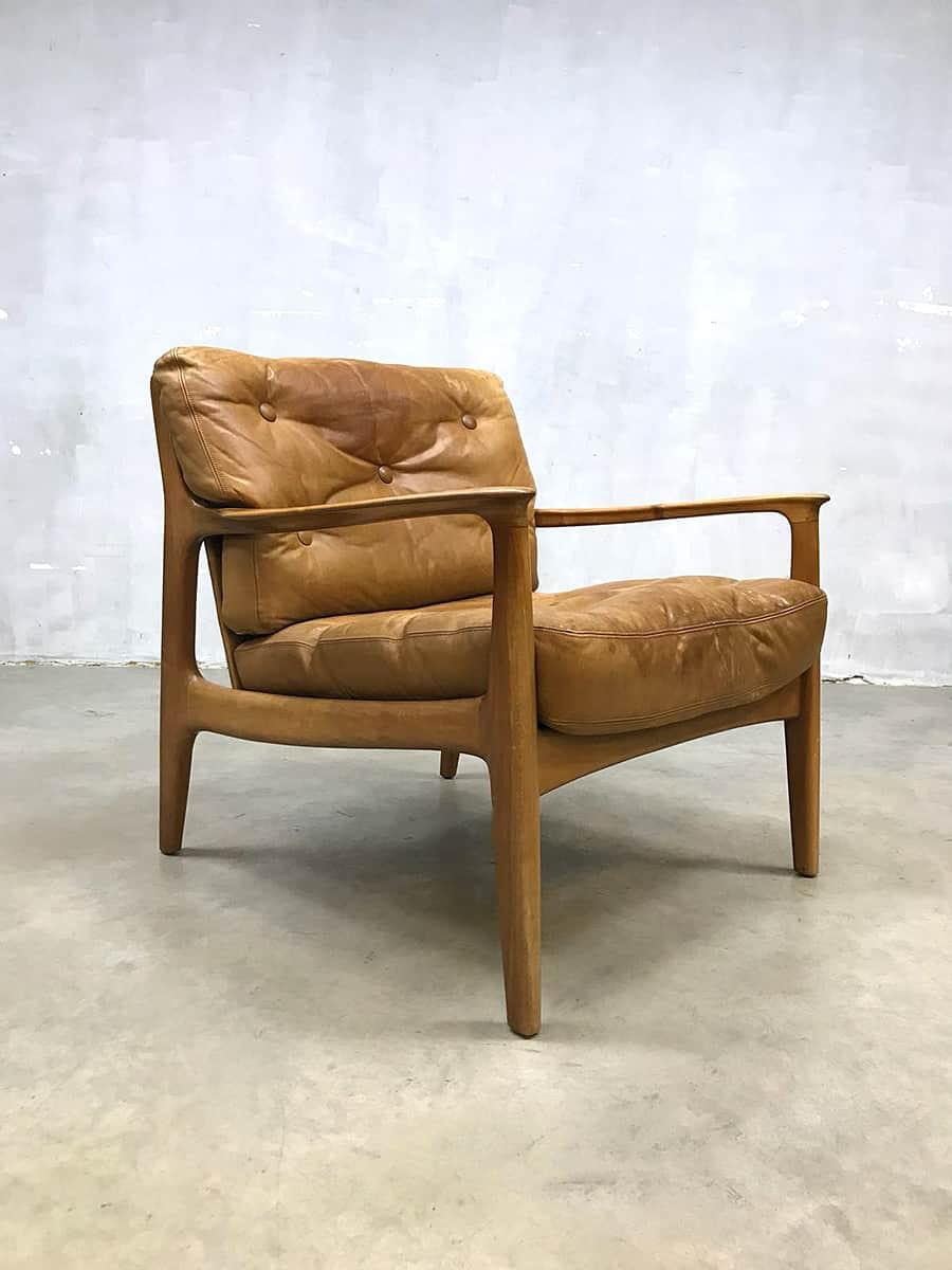 Design Leren Draaifauteuil.Leren Leather Vintage Design Chair Fauteuil Bestwelhip Eugen Schmidt